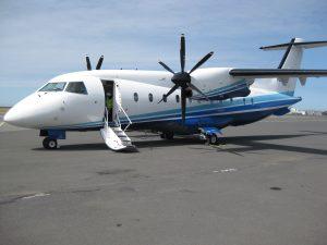 turboprop de un avion