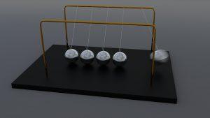 pendulo de newton compresibilidad